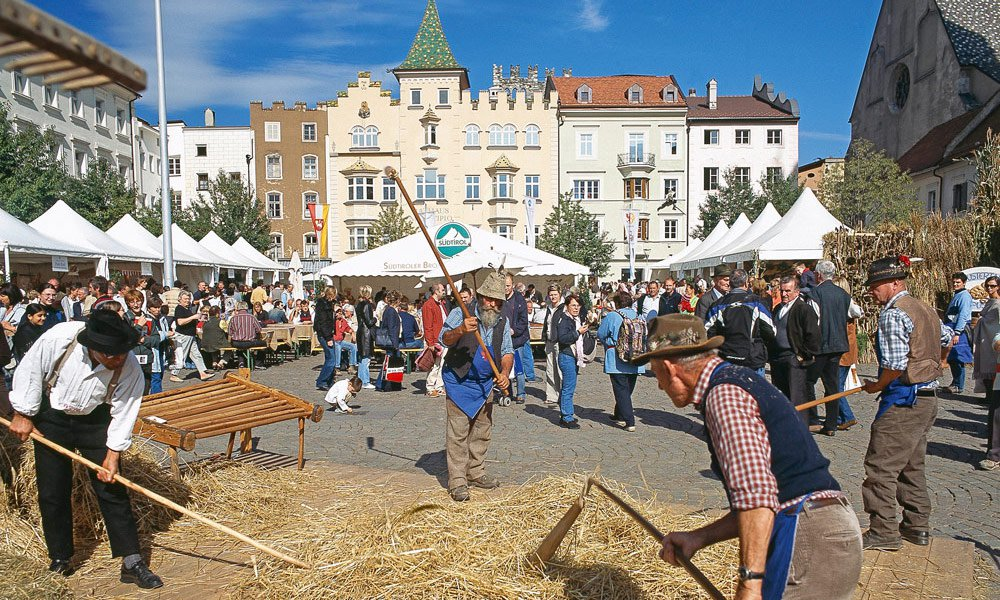 Le Settimane delle Castagne e il Festival delle Mele - eventi e manifestazioni in autunno
