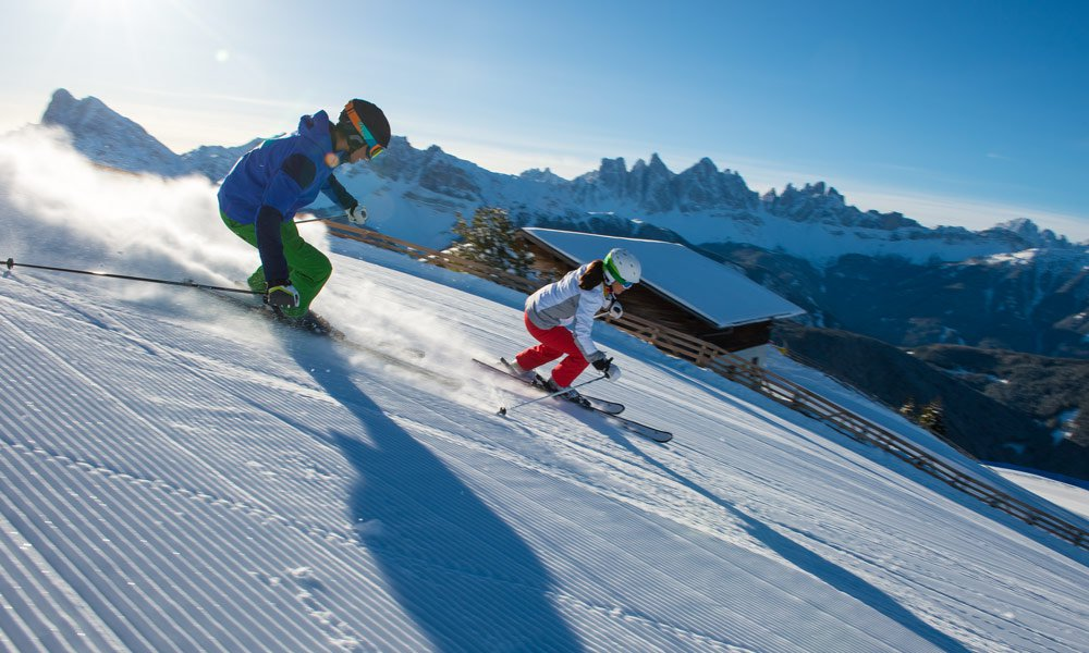 Dolomiti Superski - the ski carousel in the Dolomites